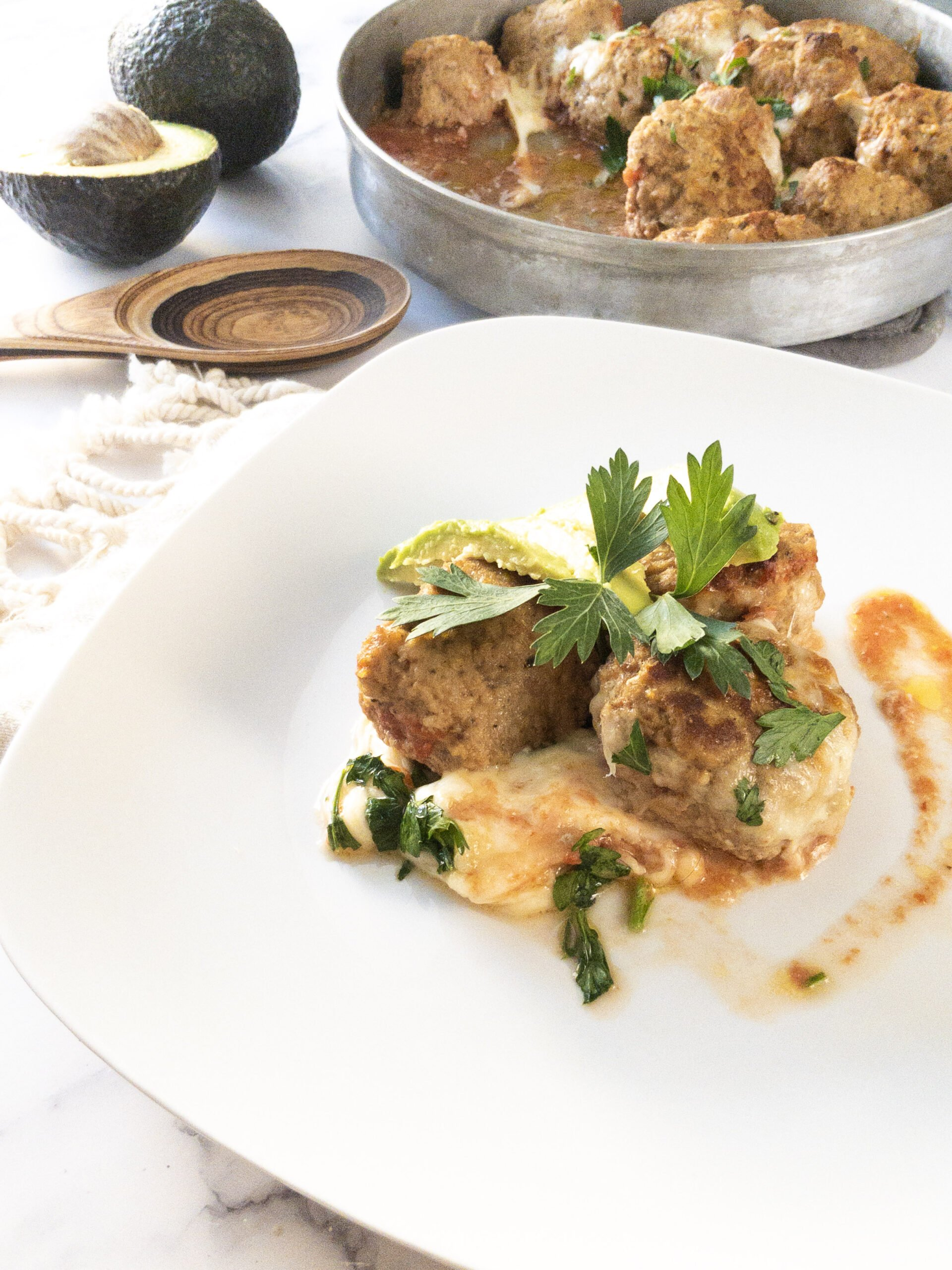 sweetketolife.com-keto-turkey-meatballs-recipe