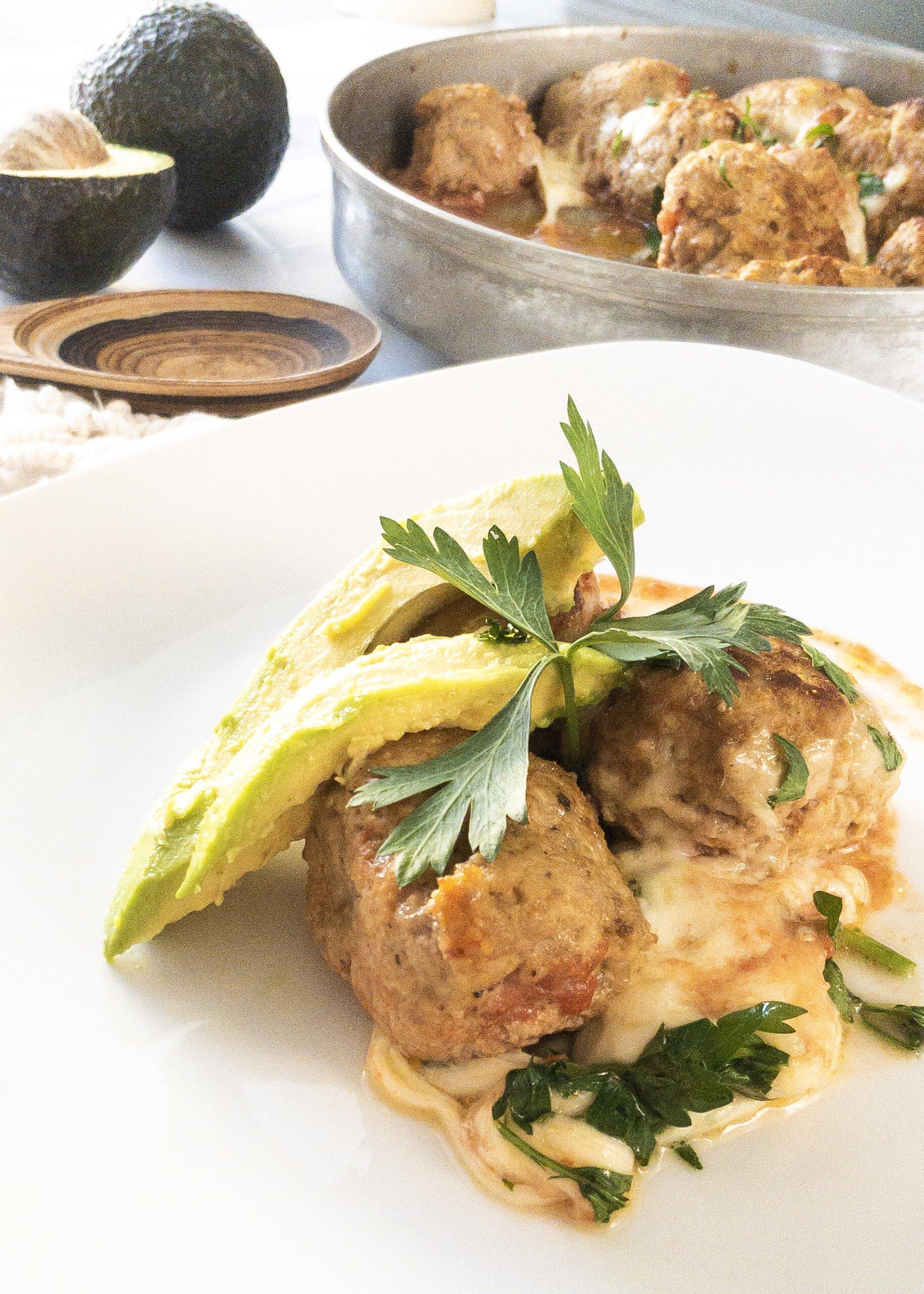 sweetketolife.com-keto-turkey-meatballs