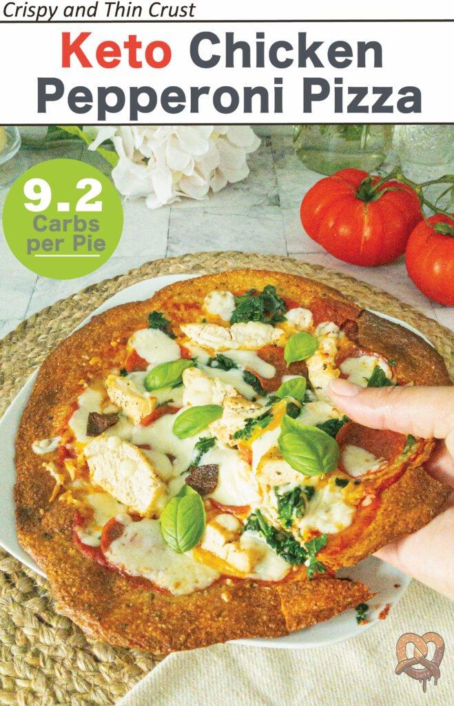 sweetketolife.com-keto-chicken-pepperoni-pizza-pie