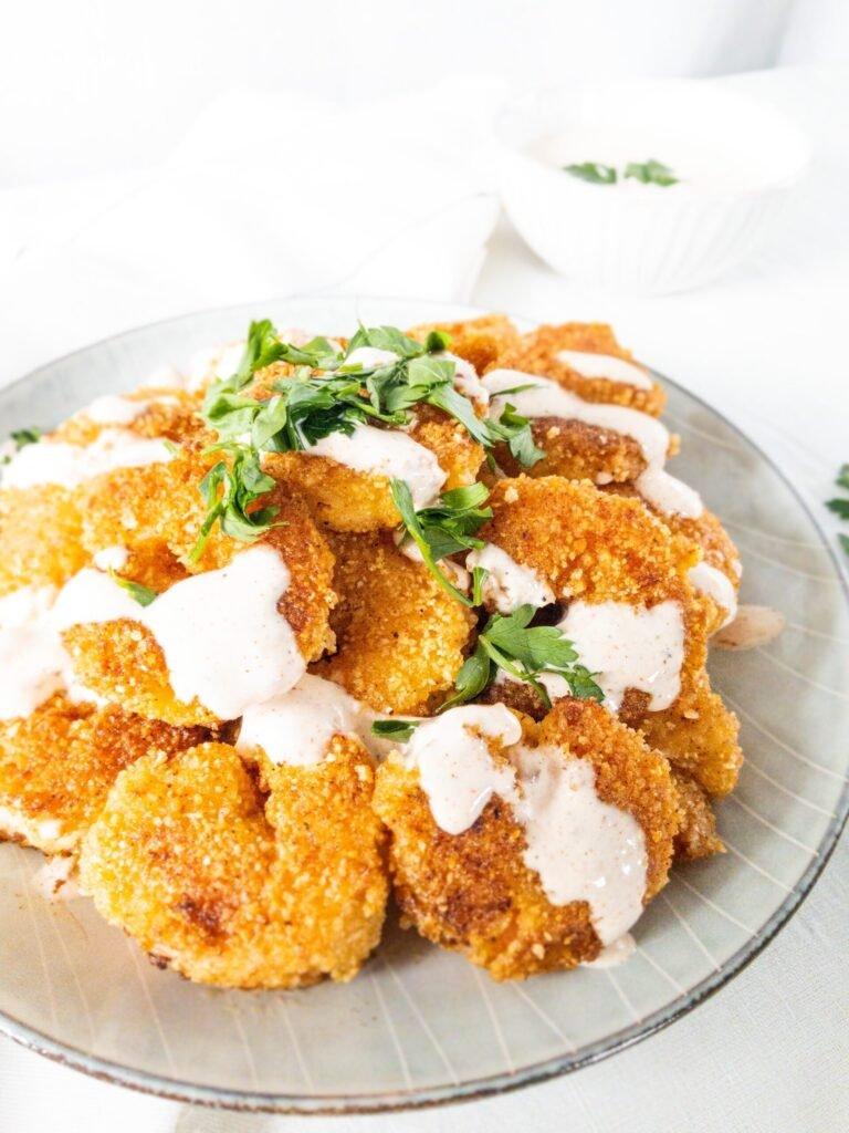 moresweetthansalty.com-almond-flour-battered-shrimp-sauce