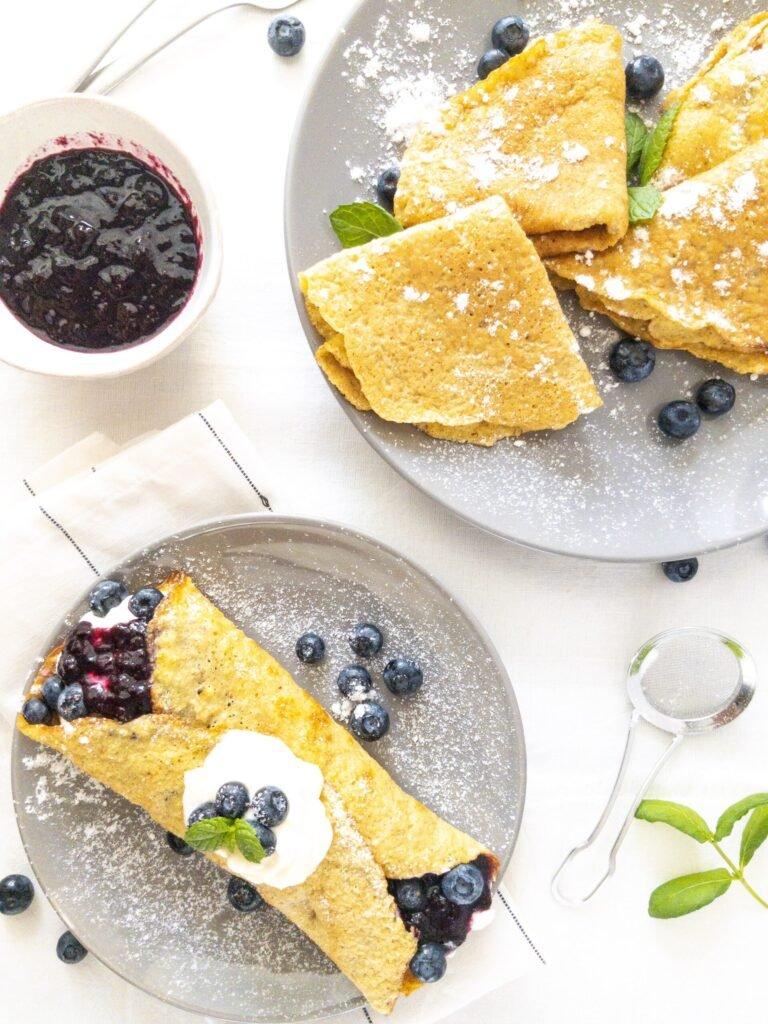 sweetketolife.com-keto-friendly-crepe-sweet-blueberry
