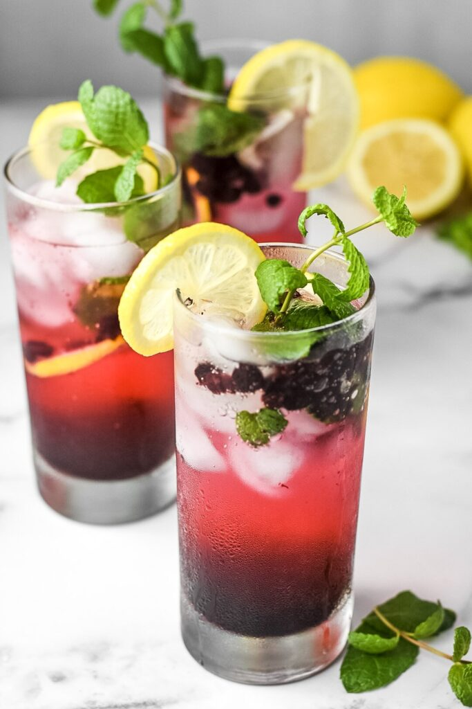 sweetketolife.com-keto-blueberry-mojito-recipe-lemon