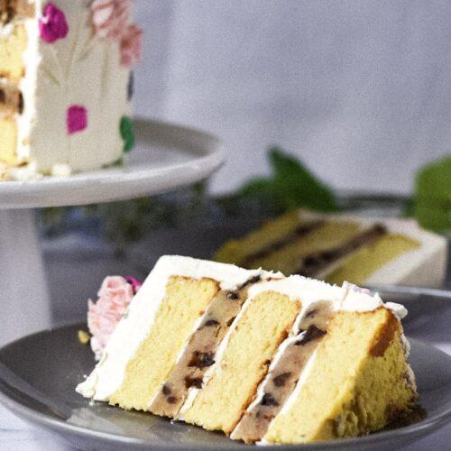 moresweetthansalty.com-keto-chocolate-chip-cookie-cake-slice