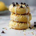 moresweetthansalty.com-almond-flour-doughnuts-glazed-vanilla-sprinkles-chocolate-glossy