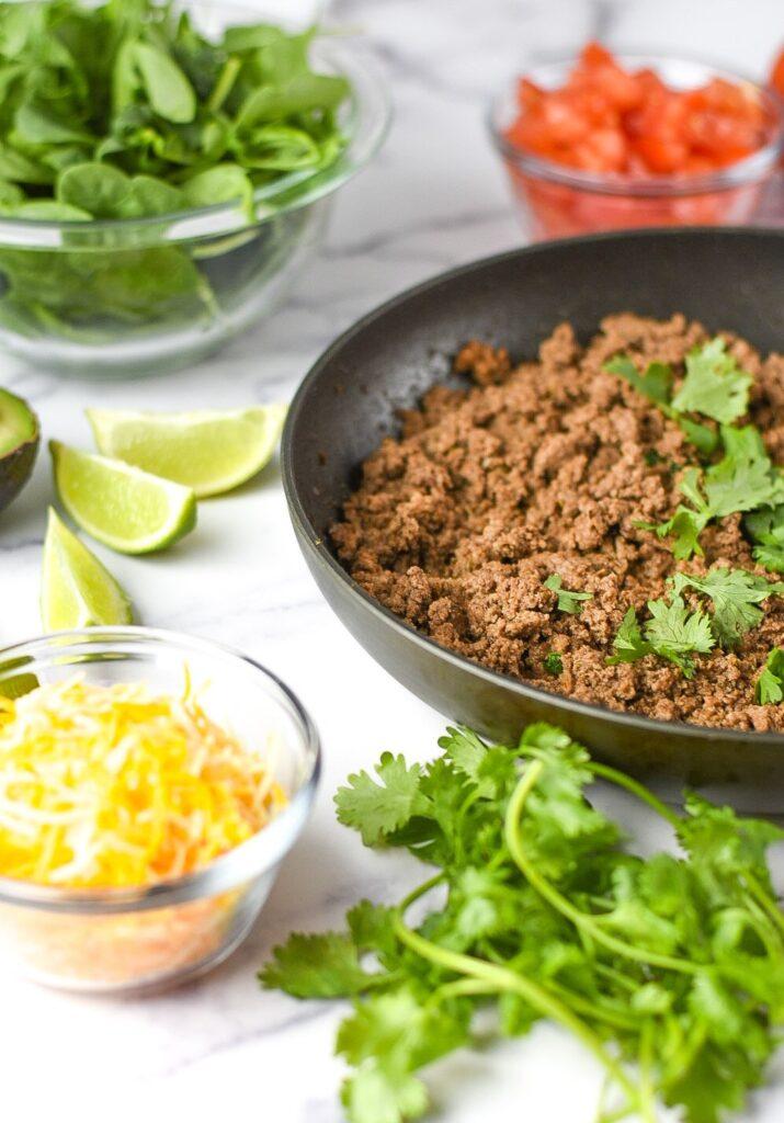 sweetketolife.com-taco-salad-for-keto-ingredients