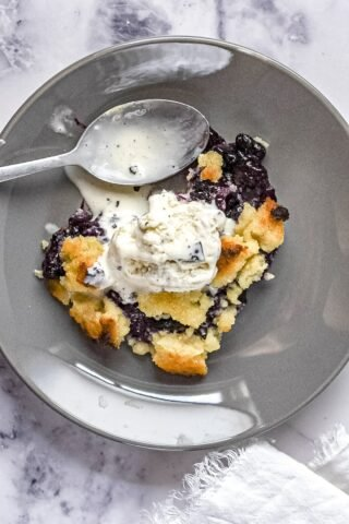 moresweetthansalty.com-low-carb-blueberry-crumble-ice-cream