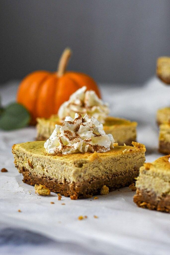 sweetketolife.com-flourless-pumpkin-dessert-creamy-cheesecake