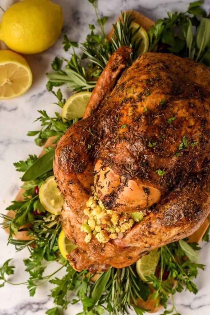 sweetketolife.com-keto-thanksgiving-turkey-recipes-baked-lemon
