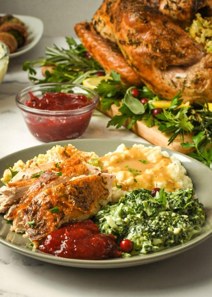 sweetketolife.com-keto-thanksgiving-turkey-recipes-lemon-plate