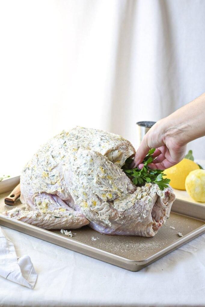 moresweetthansalty.com-keto-thanksgiving-turkey-recipes-parsley